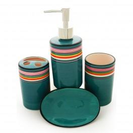 Set accesorii de baie Colorful