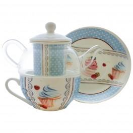 Ceainic Strip Tea Cupcake