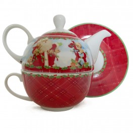 Ceainic Tea for One Santa