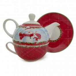 Ceainic Tea for One Santa
