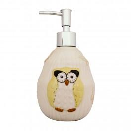 Set accesorii bucatarie Funny Owl, Galben