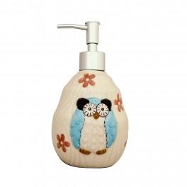 Set accesorii bucatarie Funny Owl, Albastru