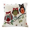 Set huse pentru perne decorative Funny Owl