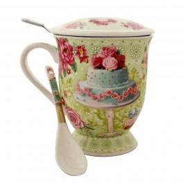 Cana pentru ceai Cake, Vernil