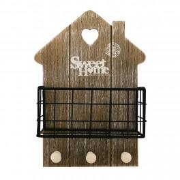 Cuier Sweet Home cu suport metalic
