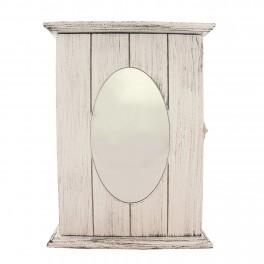 Caseta pentru chei cu oglinda