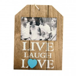 "Rama foto ""Live Laugh Love"""