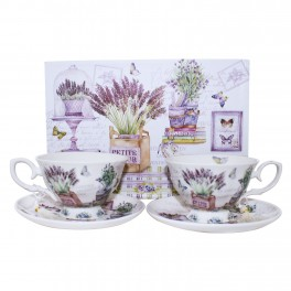 Set cesti ceai Little Flower