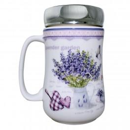 Cana din ceramica Lavender Garden