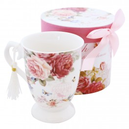 Cana de cafea English Rose
