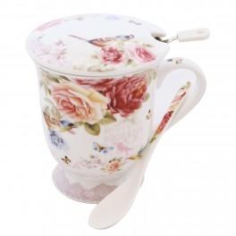 Cana pentru ceai English Rose