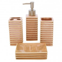 Set accesorii de baie, Roz Sidef