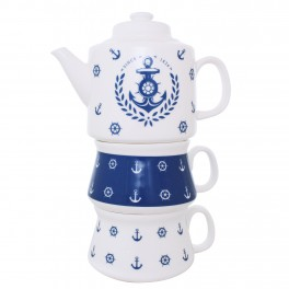 Set Tea for Two Nautical