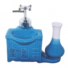 Dozator sapun Deco, Albastru