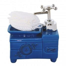 Dozator sapun Vintage Style, Albastru