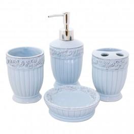 Set accesorii de baie Class, Bleu