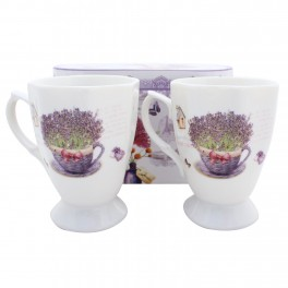 Set cani de cafea Lavender Garden