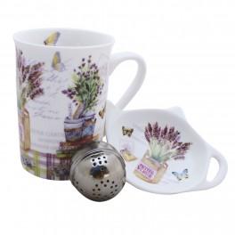 Cana pentru ceai Little Flower, 250 ml