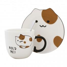 Cana cu farfurie Cat