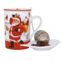 Cana pentru ceai Christmas, 250 ml