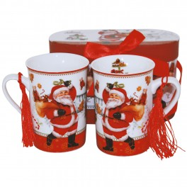 Set cani de cafea Christmas