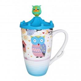 Cana de cafea Circus Owl, Albastru