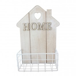 Cuier Home cu suport metalic