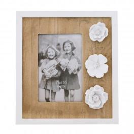 Rama foto lemn, 10 x 15 cm