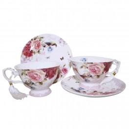 Set cesti ceai English Rose