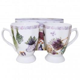 Set cani de cafea Lavender Duo