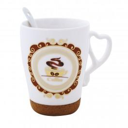 Cana de cafea cu lingurita Coffee Series