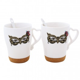 Set cani de cafea Masquerade