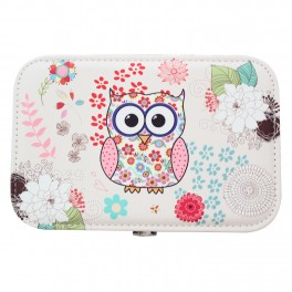 Caseta de bijuterii Owl Pink