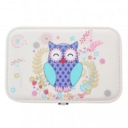 Caseta de bijuterii Owl Blue